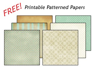 digital scrapbook paper