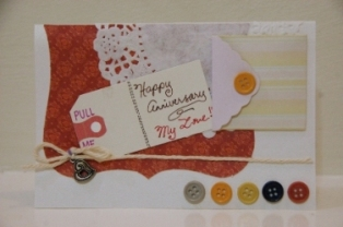 Easy to Make Anniversary Card