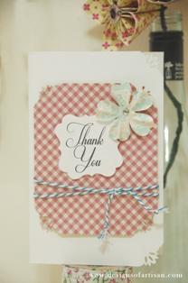 Handmade Thank You Cards Ideas