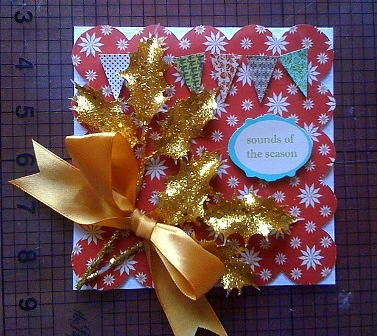 make your own christmas card, Greeting card