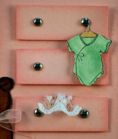 Make baby girl cards!
