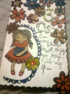 WHAT I WANT TO SAY TO YOU<br>A Handmade Card for My Love