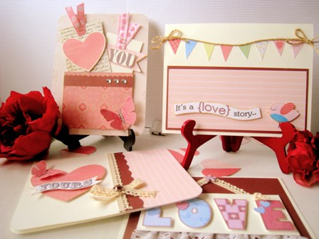 Beautiful Love Cards FREE Ideas for Homemade Valentine Cards – Beautiful Valentine Cards