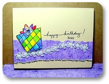 easy to make birthday card
