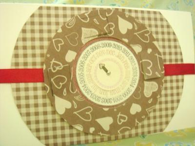 Calendar Valentine's Card