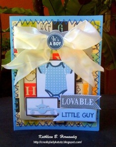 Make Adorable Cards for New Baby!