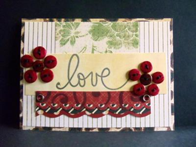 Chic Love Card