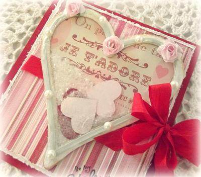 Be My Valentine<br>Homemade Valentines Card