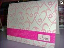 Easy-to-Make I Love You Card