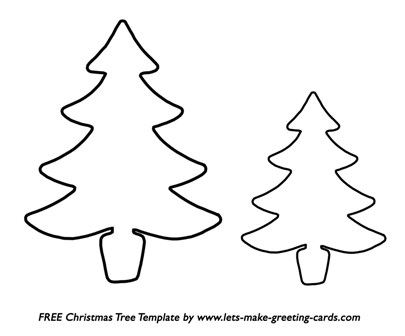 Christmas Craft Ideas  on Free Christmas Tree Template  Free Christmas Card Ideas