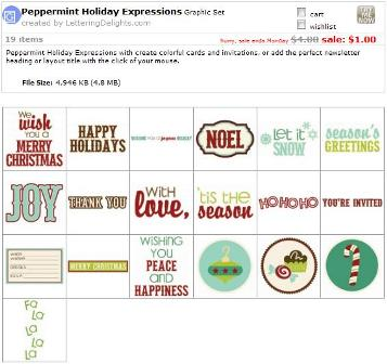 Holiday Peppermint Expressions
