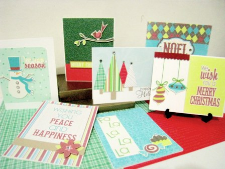 these Christmas cards! They're so easy and probably the quickest cards ...: www.lets-make-greeting-cards.com/christmas-card-ideas.html