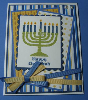 Hanukkah Greeting Card Idea