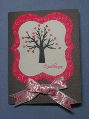Heart Tree Valentines Day Card