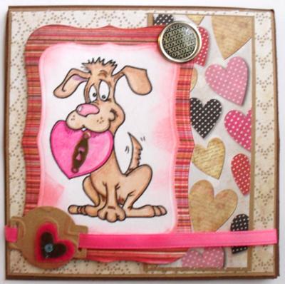 Key to my Heart<br>Valentine Card Idea