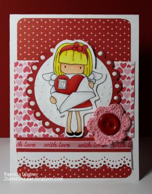 Love Mail<br>Homemade Valentine Card