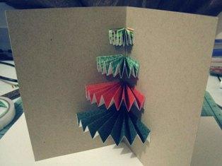 Easy to make christmas card with a twist make christmas card step 10 m4hsunfo