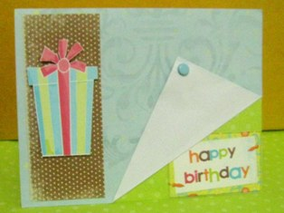 making birthday cards the fun and easy way, Birthday card