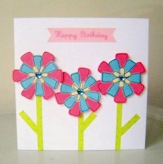 make greeting cards. free handmade card ideas to make your own, Birthday card