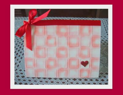 Red-is-Love Valentine's Day Card
