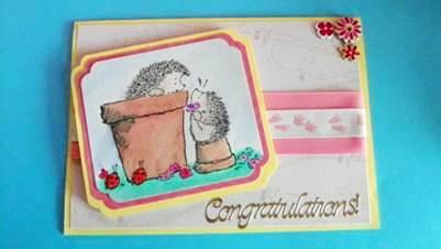 Congratulations Baby Card
