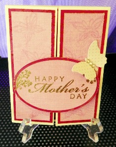A Gorgeous Mothers Day Card to Craft by Christy