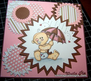 How to Make a Baby Girl Card