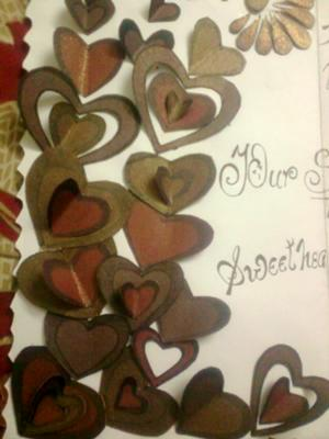 LOTS OF HEARTS FOR GRACE LOOKING