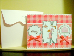 A handmade greeting card for all occasions
