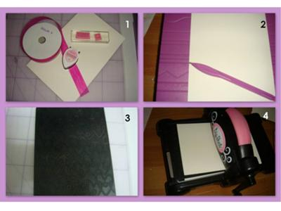materials for easy to make I love you card