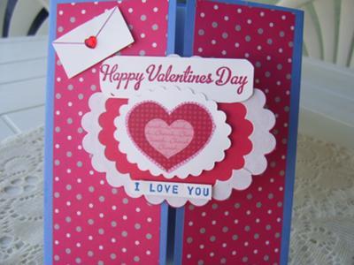 Homemade I Love You Card
