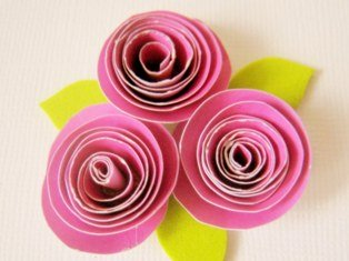 Paper flower making for greeting cards boatremyeaton paper mightylinksfo