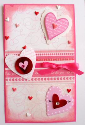 So Simple Valentine Card Idea