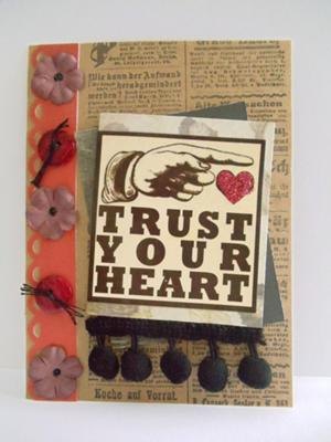 Turst Your Heart Card