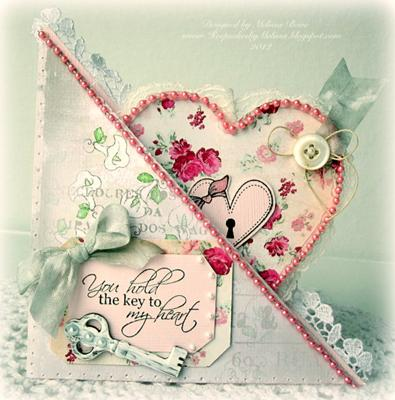 You hold the Key<br>Pocket Valentines Card